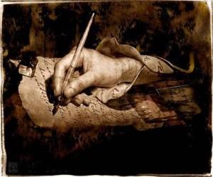 a-poesia-mao-escrevendo