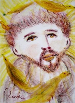 Francisco de Assis pintado por Renoir