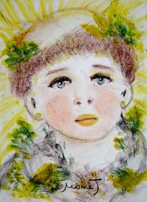 Irmã Clara pintado por Monet